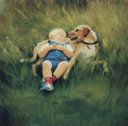 38810995_painting_children_kjb_DonaldZolan_49BestFriends_sm