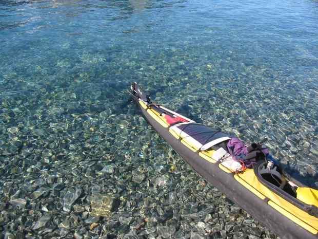 clear water at rest spot tinteqiloq